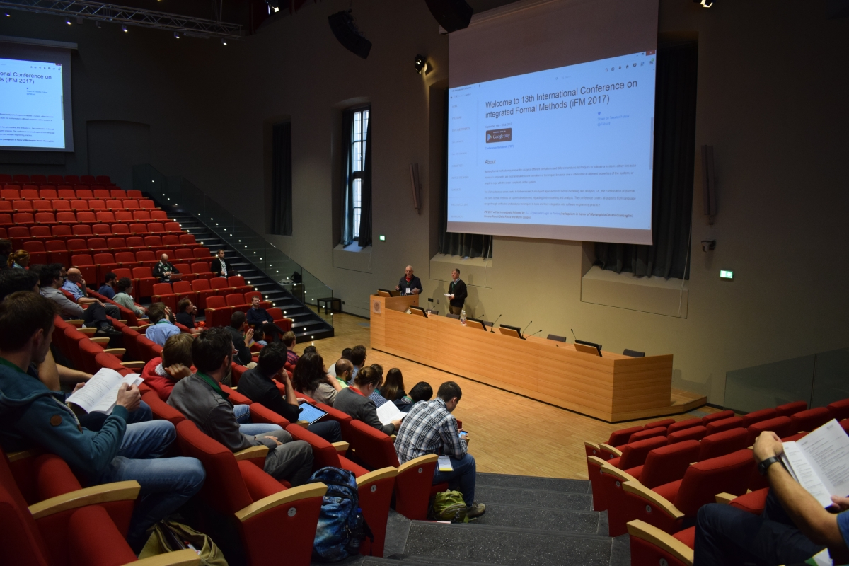 13th International Conference on integrated Formal Methods - Venue